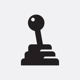 Manual gear stick icon