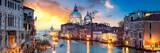 Wenecja Panorama o zachodzie słońca