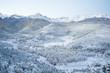 winter mountain range colorado