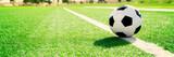 Tradycyjne piłki nożnej na boisko do piłki nożnej