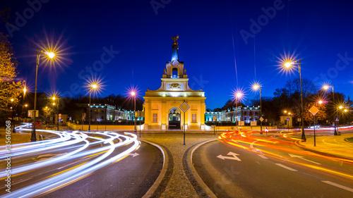 Fototapety, obrazy : Branicki Palace Bialystok Night