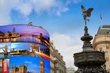 Piccadilly Circus London digital photomount - 135616849