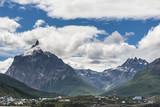 Peaks Olivia and Seven Brothers, Ushuaia, Tierra del Fuego, Argentina
