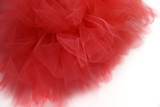 Bright red tulle - 135627628