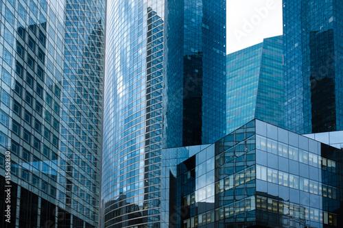 Poster building tour immeuble bureau banque affaire business dollar ent