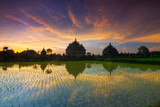 Sunset of Plaosan Temple