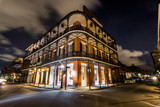 Fototapety Downtown French Quarters New Orleans, Louisiana at Night