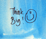 think big text