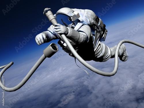 Foto op Canvas Astronaut