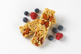 peanut and almond snack bars