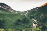 Mountains green valley Landscape Travel serene scenery summer season