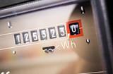 Stromzähler Close-Up - 135722217