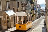 Żółta kolejka linowa w Lizbonie