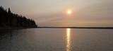 Smoky Saskatchewan sunrise