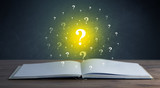 Question marks over book