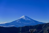 大涌谷から見る富士山