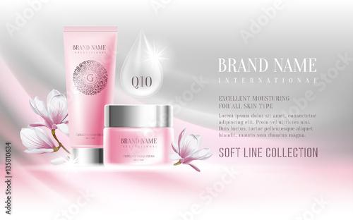 Fototapeta Cosmetics advertisement