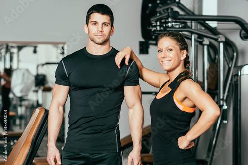 Good looking fitness Instructors