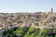 Panoramic view of sassi, Matera, Unesco heritage and European capital of culture 2019, Italy