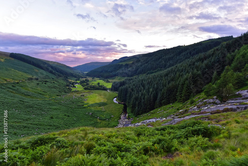 Irland - Wicklow Mountains Poster