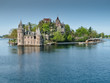 Boldt Castle and Power House on the St. Lawrence River, NY