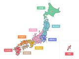日本地図03 - 135888876