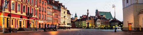 Early morning in Warsaw, Poland