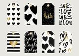 Valentine's Day Gift Tag Designs - 135908277