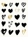 Heart Shapes Collection - 135908403
