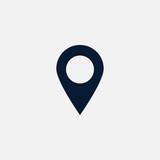 Location icon simple illustration - 135916819
