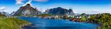 Panorama archipelagu Lofoty
