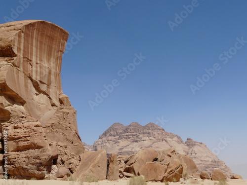 Poster Désert du Wadi Rum