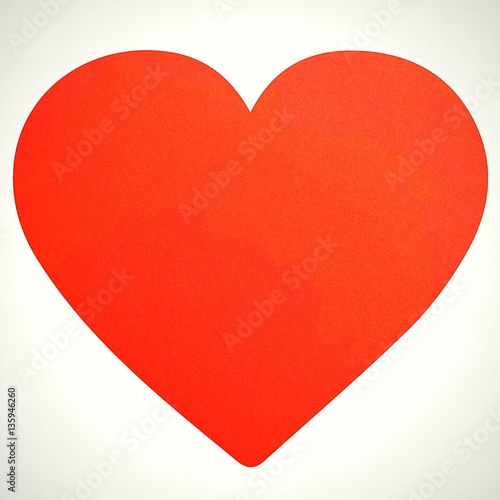 Tuinposter Rood Heart, Valentine's Day