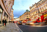 Shopping at Oxford street, London, Christmas day - 135951484