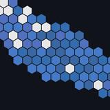 Vector hexagon background
