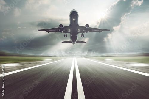 Obraz na plátne Airplane starts