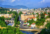 Fototapety Sarajevo city, capital of Bosnia and Herzegovina