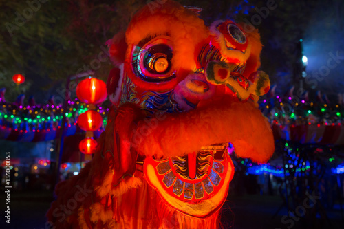 Chinese New Year Lions Poster