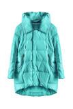 Blue jacket isolated