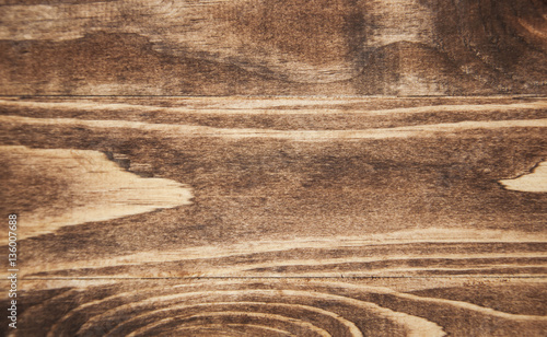 Tuinposter Hout Brown wooden background