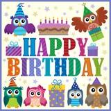 Happy birthday composition 5