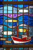Vitrail commémoratif de la mer