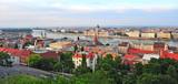 Panorama of Budapest city, capital of Hungary