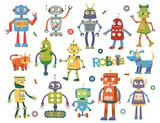 Robots Wall Sticker