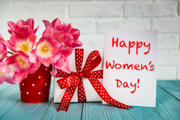 Women's day concept