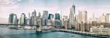 NEW YORK CITY - OCTOBER 22, 2015: Lower Manhattan skyline from M - 136050819