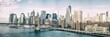 NEW YORK CITY - OCTOBER 22, 2015: Lower Manhattan skyline from M