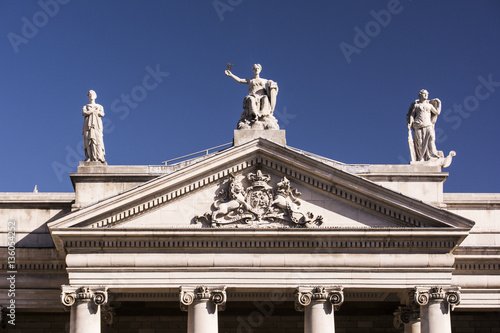 "Dublin, Bankgebäude ""Bank of Ireland"". Poster"