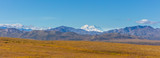 Panoramic Landscape of Denali National Park Alaska