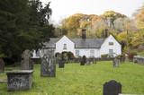 Almshouses, St Dynogs Church, Llanrhaeadr, Wales